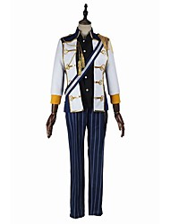 Inspired by Cosplay Cosplay Video Game Cosplay Costumes Cosplay Suits Fashion Long Sleeve Shirt Top Pants Gloves Suspenders