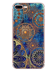 For Apple iPhone 7 7 Plus 6S 6 Plus Case Cover Mandala Pattern HD Painted TPU Material Soft Case Phone Case