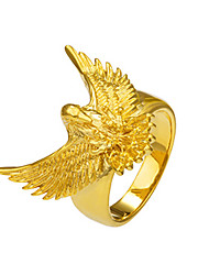 Men's Women's Statement Rings Ring Basic Animal Design Fashion Punk Rock Gothic Costume Jewelry Copper Animal Shape Eagle Jewelry For