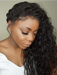 Parrucche verdi del merletto riccio di vendita caldo di vendita caldo per la donna 130% densità parrucca brasiliana del merletto dei