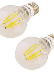 7W Lâmpada Redonda LED 6 COB 600 lm Branco Quente V 2 pçs