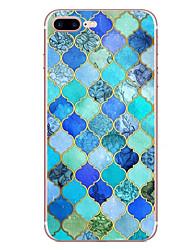 Для яблока iphone 7 7 плюс 6s 6 плюс чехол для обложки бриллиантовый рисунок hd покрашенный tpu материал мягкий чехол для телефона