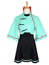 Ternos de Cosplay Vestidos Tops Cosplay / Bottoms Peça para Cabeça Inspirado por Fantasias Fantasias Anime Acessórios para CosplayOther