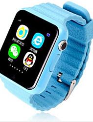Детские часыЗащита от влаги Длительное время ожидания Педометры Видео Спорт Фотоаппарат Регистрация дистанции GPS Информация