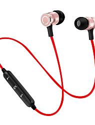Écouteur bluetooth magnétophone avec écouteur bluetooth sans fil écouteurs stéréo super bass avec micro pour téléphone portable