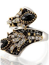 Maxi anel Anel Original Moda Vintage Personalizado Euramerican Jóias de Luxo Bijuterias Destaque Resina LigaForma Redonda Forma