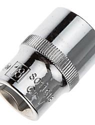 Bouclier en acier 12,5 mm série métrique 6 angle manchon standard 18 mm / 1 support