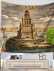 Декор стены 100% полиэстер Художественный С узором Предметы искусства,1