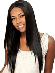 2017 Unprocessed Long Straight Human Hair Wigs With Baby Hair Natural Hairline Guleless Lace Front Wigs For Black Women Large Stocks