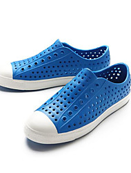 Men's Sandals Comfort Hole Shoes Rubber Spring Casual Royal Blue Navy Blue Yellow Flat