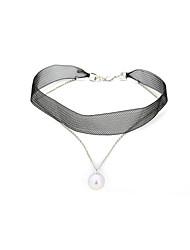 Femme Collier court /Ras-du-cou Imitation de perle Original Pendant Bijoux Pour Anniversaire Quotidien Regalos de Navidad 1 pièce