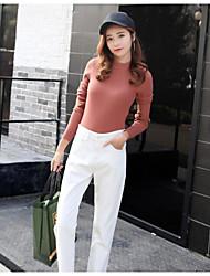 Sign new Korean corduroy pants loose harem pants were thin pantyhose feet pants casual pants