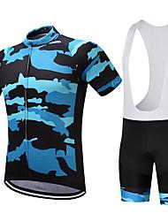 SUREA Maillot et Cuissard à Bretelles de Cyclisme VéloCuissard / Short Chemise Shirt Maillot Maillot + Short/Maillot+Cuissard Maillot +