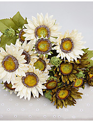 13 Head Sunflowers flowers Artificial Bouquet for Home Decor and Wedding Decorations