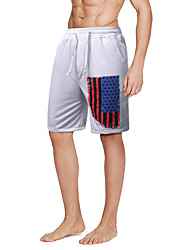 Men's High Rise strenchy Shorts Pants,Chinoiserie Skinny Print