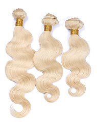 Precolored Hair Weaves Brazilian Texture Body Wave 6 Months 4 Pieces hair weaves