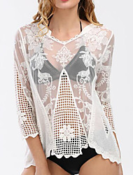 Women's Cover-Up Mesh Solid