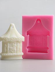 Moldes DIY para Candy Silicone Aniversário Ano Novo Dia de Ação de Graças