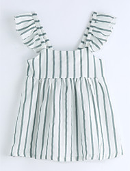 Striped Blouse,Cotton Summer Sleeveless