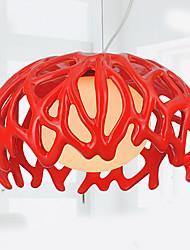 Luzes Pingente ,  Contemprâneo Pintura Característica for Estilo Mini ResinaSala de Estar Quarto Sala de Jantar Quarto de