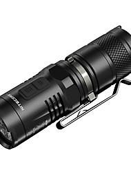 Nitecore® MT10C LED-Zaklampen LED 920 Lumens 7 Modus Cree XM-L2 U2 CR123ADimbaar Waterdicht Oplaadbaar Gemakkelijk draagbaar Compact formaat Klem