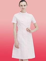 Women's Work Street chic Summer Shirt Dress SuitsSolid Crew Neck 3/4 SleeveSpecial Size Activewear Type Style Occasion Gender Pattern Design Neckline