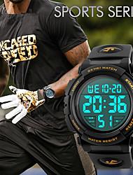 Hommes Femme Montre de Sport Montre Habillée Smart Watch Montre Tendance Montre Bracelet Unique Creative Montre Chinois NumériqueLCD