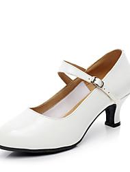 """Women's Modern Leatherette Heels Indoor Heel White 2"""" - 2 3/4"""" Customizable"""