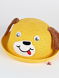 Kids' Sun Hat Cartoon Dog Floppy Ears Cute Straw Hat