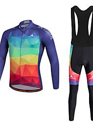 Miloto Maillot de Ciclismo con Mallas Bib Bicicleta Pantalones/Sobrepantalón Chándal Camiseta/Maillot Medias/Mallas Largas