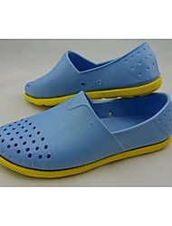 Men's Sandals Comfort Hole Shoes Rubber Spring Casual Light Blue Navy Blue Gray Flat