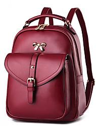 2017 Fashion New Ladies Backpack Shoulder Shoulder Bag Dual Use Female Bag College Style Wind