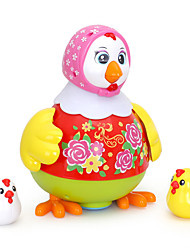 Educational Toy Dollhouse Accessory Chicken Plastics Toddler