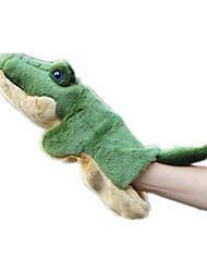 Bonecas Crocodilo Tecido Felpudo