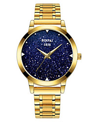 Women's Fashion Watch Japanese Quartz Water Resistant / Water Proof Alloy Band Luxury Silver Gold Rose Gold