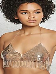 Women's Body Jewelry Body Chain Fashion Copper Rhinestone Geometric Jewelry For Casual 1 pcs