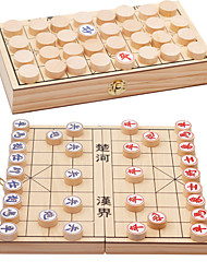 Board Game Chess Game Natural Wood 6 Years Old and Above 3-6 years old