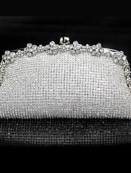 L.WEST omen's fashion diamond Dinner Bag
