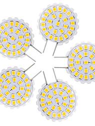 1.5W Luminárias de LED  Duplo-Pin T 27 SMD 2835 100-150 lm Branco Quente Branco Frio V 5 pçs