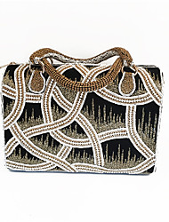 Women Full Diamonds Beaded Handbag with India Handicraft