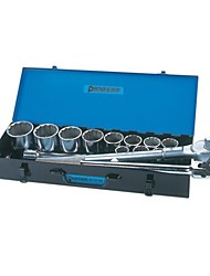 The Great Wall Seiko 18 Piece Set 20Mm Series Cr-V Metric Twelve Angle Sleeve Set Tool 540*180*95Mm