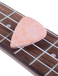 Quality Stiff Felt Ukulele Banjo Classical Guitar Plectrums Picks  3mm Thick