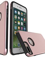 Pour Apple iphone 7 plus iphone 6s 6 plus iphone se 5s 5 casse le plastique avec tpu cadres