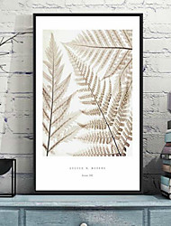Floral/Botanical 3D Framed Art Wall Art,PS Material With Frame For Home Decoration Frame Art Living Room Bedroom Kids Room 1Piece/Set