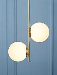 Lustre ,  Rustique Peintures Fonctionnalité for Designers Métal Bureau/Bureau de maison Intérieur Magasins/Cafés 2 ampoules