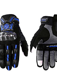 Scoyco MC20 Guantes Motorcycle Scooter Touch Gloves Summer Carbon Fiber Protective Racing Gears Silicone