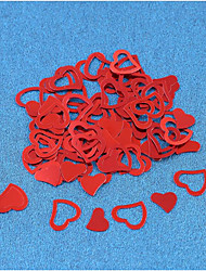 500 Pieces/A Set Of Heart-Shaped Paper Chip/Love Wedding Emulation/Table Wedding Decoration