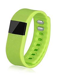 tw64 cadeau de silicone sport intelligent d'usure bluetooth téléphone bracelet amateurs étape jauge bracelet de santé