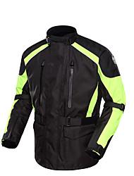 Муж. Велоспорт Верхняя часть Водонепроницаемый Дышащий Сохраняет тепло С защитой от ветра Защитный Хлопок Терилен Оксфорд Спорт Мотоцикл