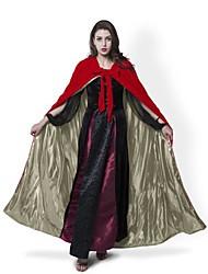 Casaco Fantasias de Cosplay Capa Vassoura de Bruxa Baile de Máscara Artigos de Halloween Festa a FantasiaMago/Bruxa Fantasma Vampiros